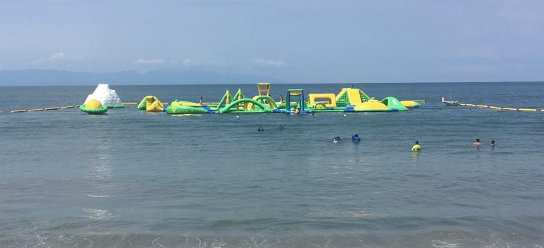 A Floating Playground in the Banderas Bay